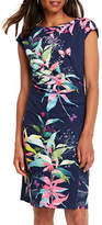 Wallis Midnight Blossom Faux Wrap Dress