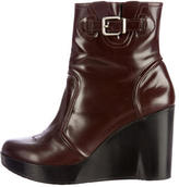 Robert Clergerie Wedge Booties
