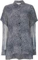 Diane von Furstenberg printed blouse
