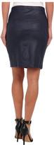 Karen Kane Faux Leather Pencil Skirt
