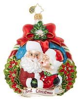 Christopher Radko First Christmas Glass Ornament