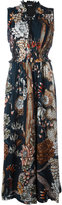 Just Cavalli patterned maxi dress