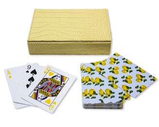 casacarta - Playing Cards With Box - Lemons