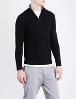 Armani Jeans Branded knitted jumper