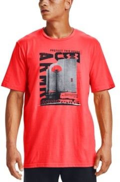 Under Armour Men's Graphic Logo Basketball T-Shirt