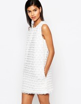 French Connection Fringe Shift Dress