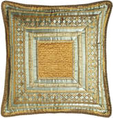Sweet Dreams Palazzo Como Mitered European Sham with Beaded Center