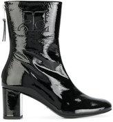 Courreges zip ankle boots