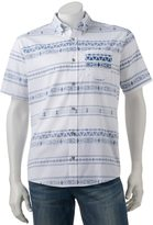 Ocean Current Men's Jacquard Button-Down Shirt