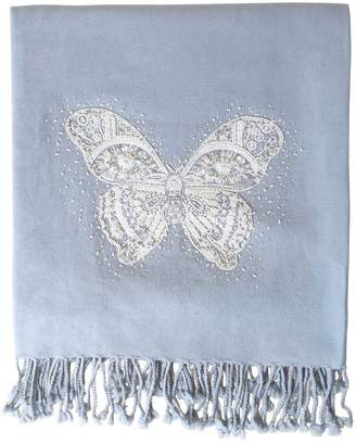 Jonathan Adler Muse Butterfly Embellished Throw