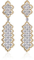 Buccellati Rombi Diamond Drop Earrings
