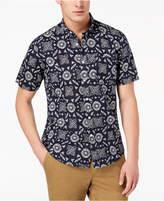 American Rag Men's Medallion Print Shirt, Created for Macy's
