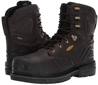 Keen CSA Philadelphia 8 Internal Met WP Carbon-Fiber Toe (Cascade Brown/Black) Men's Work Boots