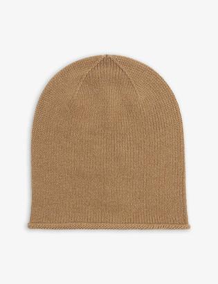 Johnstons Cashmere beanie hat