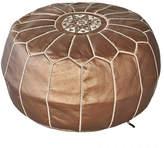 Bronze Marrakesh Traditional Stitch Ottoman