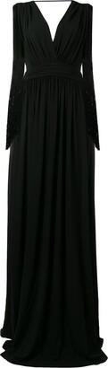 Alberta Ferretti long evening dress