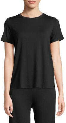 Eileen Fisher Petite Short-Sleeve Lightweight Jersey Top