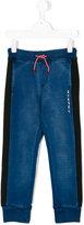 Diesel block panel sweatpants - kids - Cotton - 12 yrs