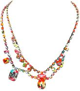 Tom Binns 'Splash Out' double necklace