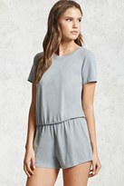 Forever 21 Keyhole Cutout Romper