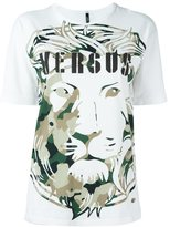 Versus lion head print T-shirt