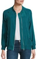 Equipment Kendrix Silk Bomber Jacket