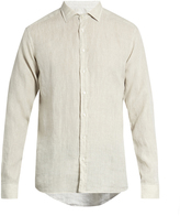 Etro Button-cuff linen shirt