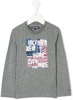 Tommy Hilfiger Junior digital print long sleeve shirt