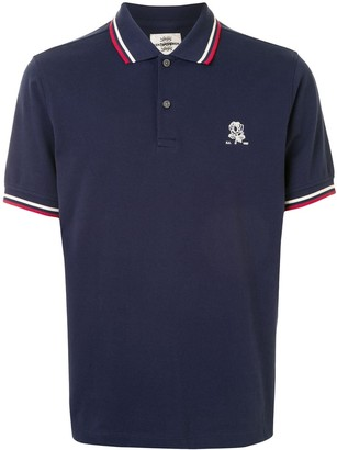 Kent & Curwen Embroidered Motif Polo Shirt
