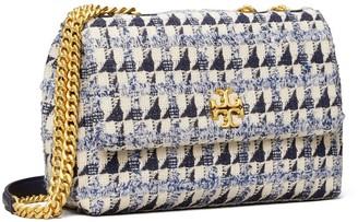 Tory Burch Kira Chevron Tweed Small Convertible Shoulder Bag