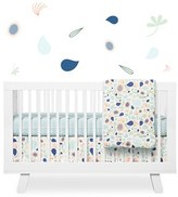 Babyletto 'Flora' Crib Sheet, Crib Skirt, Changing Pad Cover, Blanket & Wall Decals