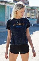 La Hearts Los Angeles Tour 98 Graphic Cropped T-Shirt