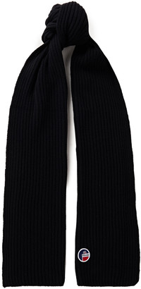 Fusalp Griaz Ii Ribbed Merino Wool And Cashmere-blend Scarf