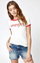 Wrangler Retro Kabel Logo Ringer T-Shirt