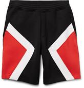 Neil Barrett Panelled Bonded Jersey Shorts