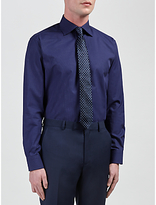 Daniel Hechter Pindot Tailored Fit Shirt, Navy