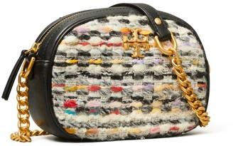 Tory Burch Kira Tweed Small Camera Bag