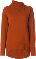 Joseph roll neck sweater dress