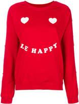 Zoe Karssen Le Happy printed pullover