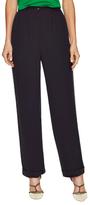 Chanel 1995 Navy Lace Trim Pant