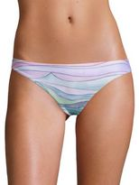 Mara Hoffman Waves Low-Rise Bikini Bottom