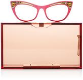 Charlotte Olympia Spectacles Pandora Rectangular Clutch