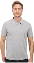 Lacoste Short Sleeve Mercerized Pique Polo w/ Tonal Embroid Croc