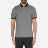 Michael Kors Men's Tipped Birdseye Polo Shirt Black