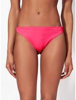 George Neon Aztec Trim Hi Leg Bikini Bottoms