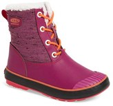 Keen Girl's Elsa Waterproof Faux Fur Lined Snow Boot