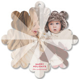 Minted Facet Holiday Ornament Cards