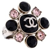 Chanel Crystal CC Cocktail Ring