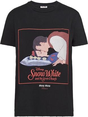 Miu Miu Kisses Snow White T-shirt