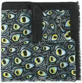 fe-fe peacock print scarf
